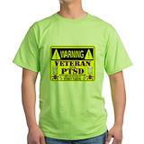 Ptsd Green T-Shirt