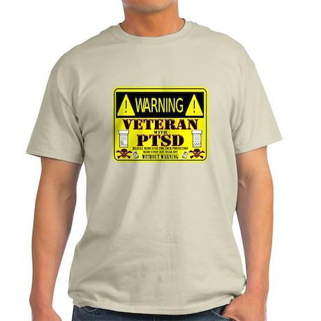 PTSD Medicated Veteran Light T-Shirt