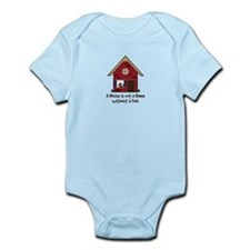 Cute House warming Infant Bodysuit