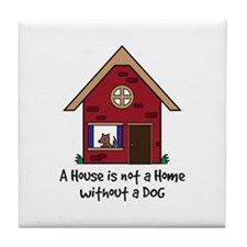 Cute Shelter Tile Coaster