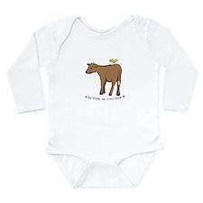 Funny Little canary Long Sleeve Infant Bodysuit