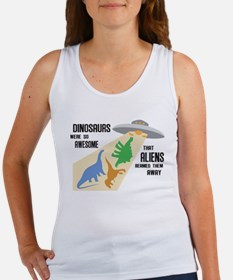 Cute Apatosaurus Women's Tank Top