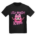 Little Monster Katie Kids Dark T-Shirt