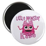Little Monster Katie Magnet