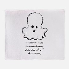 Leave An EVP After The Boo Throw Blanket