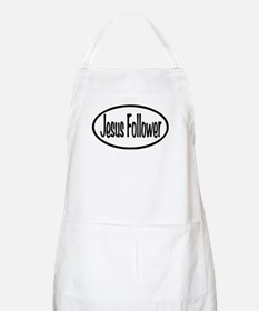 Jesus Follower Oval Apron