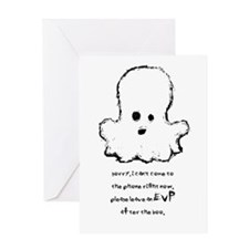 Leave An EVP After The Boo Greeting Card