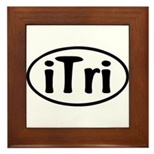 iTri Oval Framed Tile
