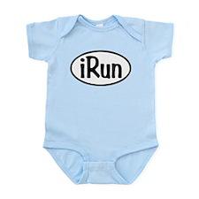 iRun Oval Infant Bodysuit