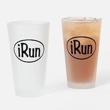 iRun Oval Drinking Glass