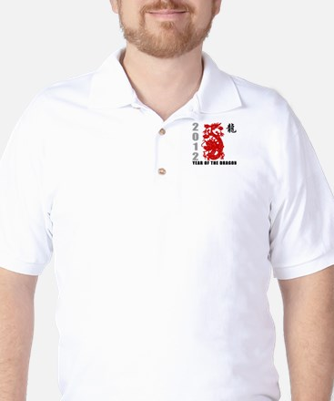 2012 Year of The Dragon Golf Shirt