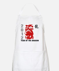2012 Year of The Dragon Apron