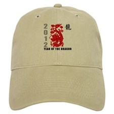 2012 Year of The Dragon Baseball Cap