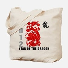 2012 Year of The Dragon Tote Bag