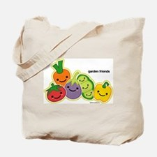 Garden Veggie Friends Tote Bag
