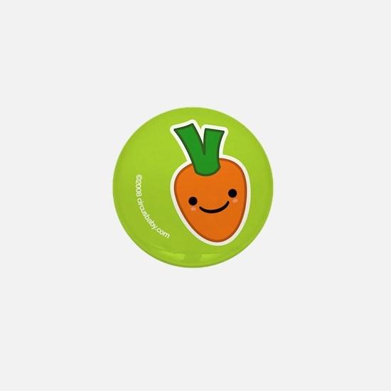 Garden Veggie Friends Mini Button