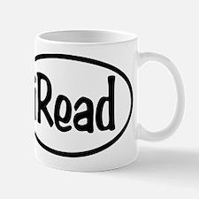 iRead Oval Mug