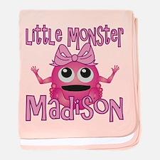 Little Monster Madison baby blanket