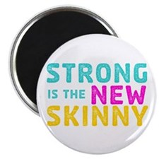 """Strong is the New Skinny 2.25"""" Magnet (10 pac"""