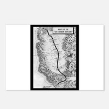 San Joaquin Daylight Postcards (Package of 8)