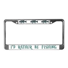 Vintage Engraving - Fish License Plate Frame