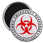 Zombie Emergency Response Operations Magnets