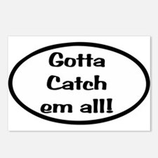 Gotta Catch Em All Postcards (Package of 8)