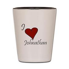Johnathan Shot Glass