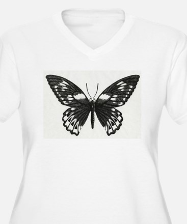 Stippled Butterfly T-Shirt