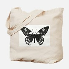 Stippled Butterfly Tote Bag