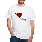 Johnny White T-Shirt