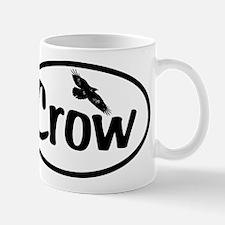 Crow Oval Mug