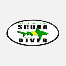 Scuba Diver: Nitrox Shark Patches