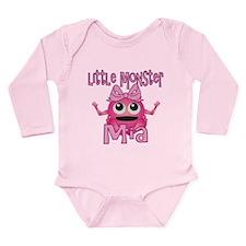 Little Monster Mia Long Sleeve Infant Bodysuit