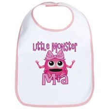 Little Monster Mia Bib