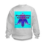 Patriotic Orchid Kids Sweatshirt