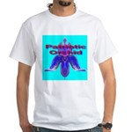 Patriotic Orchid White T-Shirt