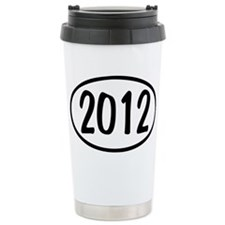 2012 Oval Travel Mug
