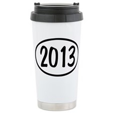 2013 Oval Travel Coffee Mug