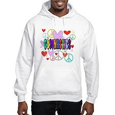 Peace-Love-Gymnastics Hoodie