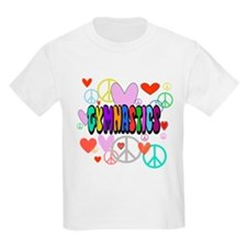 Peace-Love-Gymnastics T-Shirt