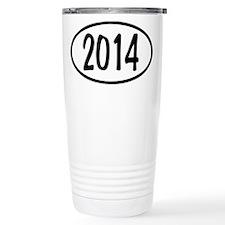 2014 Oval Travel Coffee Mug
