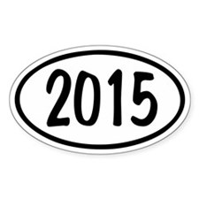 2015 Oval Decal