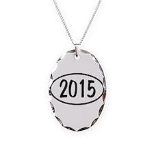 2015 Oval Necklace Oval Charm