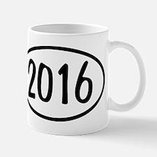 2016 Oval Mug