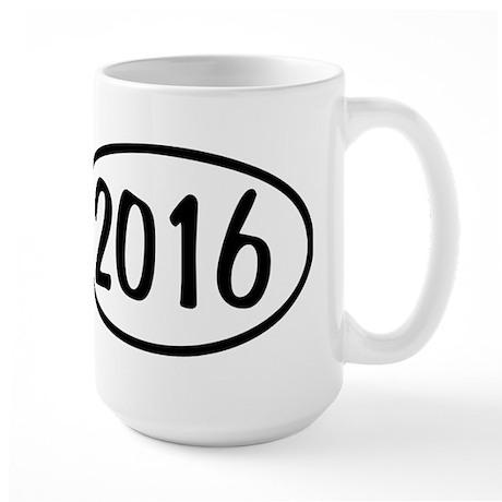 2016 Oval Large Mug