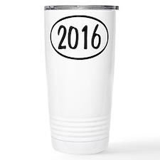2016 Oval Travel Mug