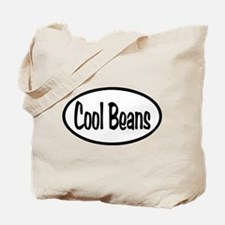 Cool Beans Oval Tote Bag