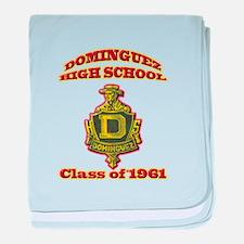 Dominguez High Class of 61 baby blanket