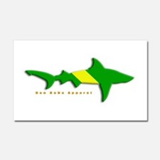 Shark Nitrox Diving Flag Car Magnet 20 x 12